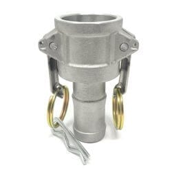 Aluminum Type C Cam and Groove Fitting, 1