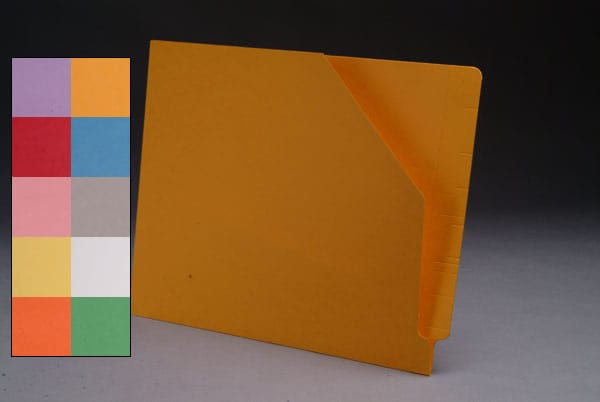 Color Folders with Pockets